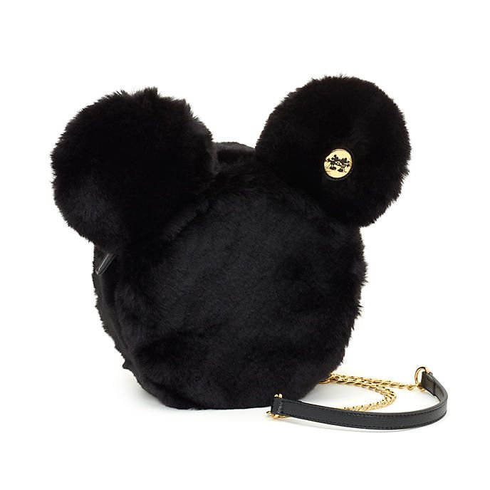 783e51e7b6cf Disney Store Mickey Mouse Mouse Fluffy Crossbody Bag | disney decor ...