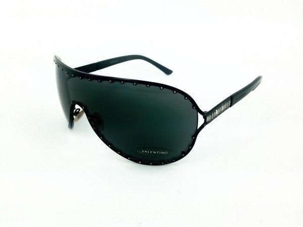 77c76ca389a VALENTINO Black Case Sunglasses 5434 S DBS95 125 New Limited 415