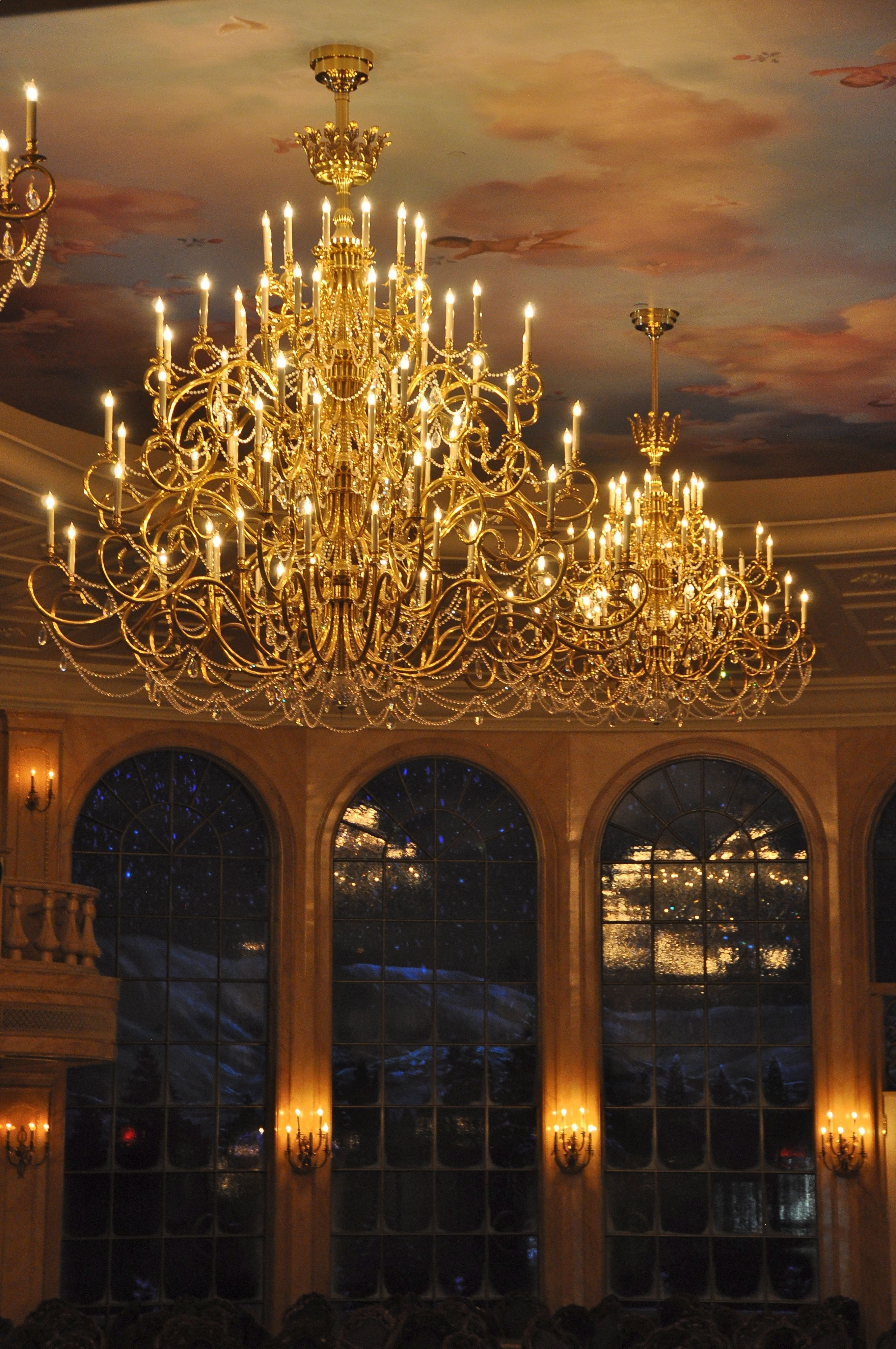 Its Real The Chandelier Is Real Now Where To Find It And How To Get It In My House Anybody Wa Disney Beauty And The Beast Beauty And The Beast Chandelier