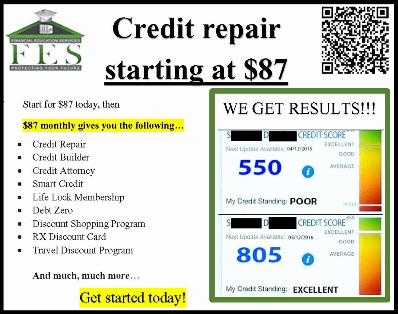 Credit Repair Flyer Template Luxury Credit Repair Flyers