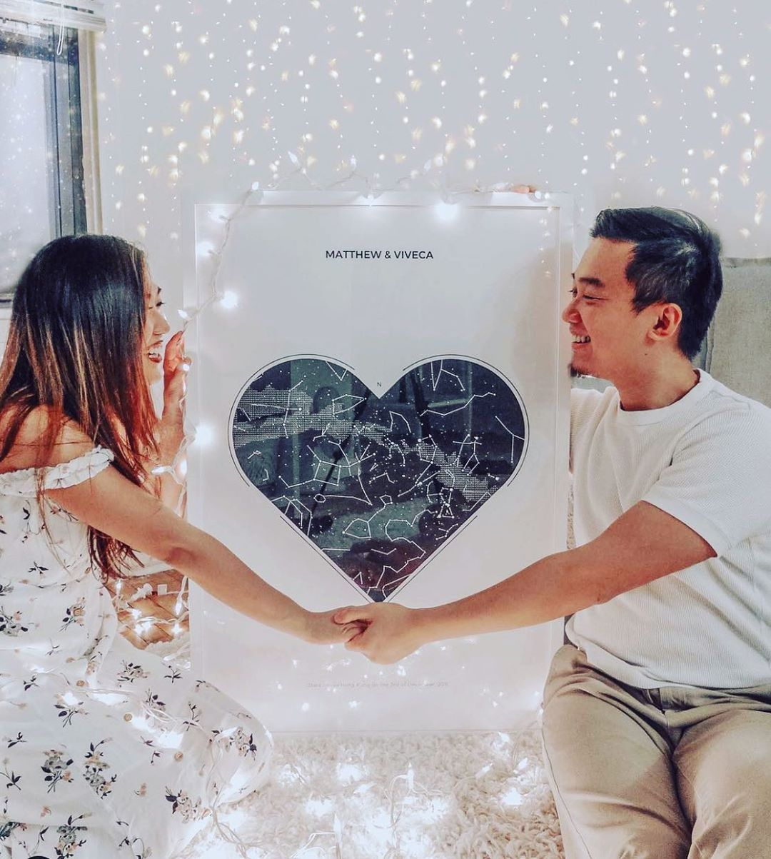 Under Lucky Stars in 2020 Star map, Cute relationships