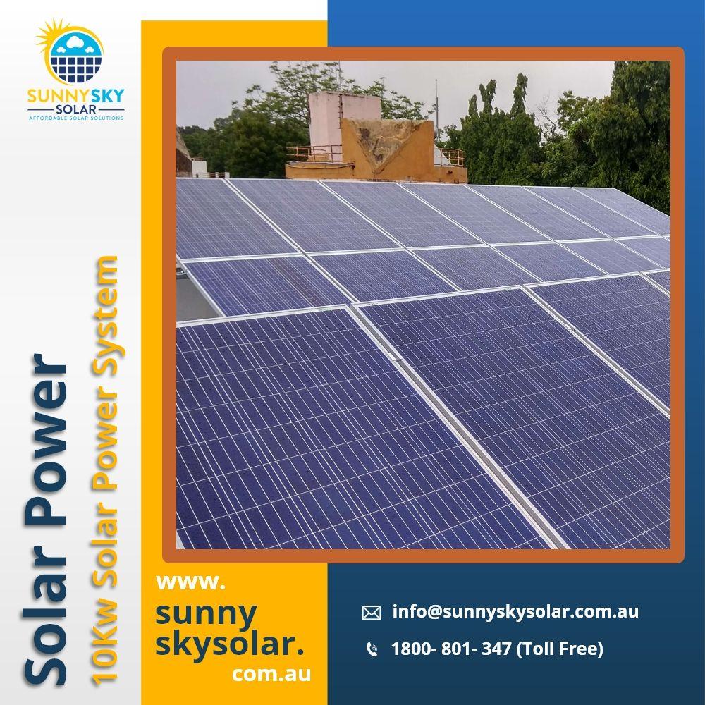 10kw Solar Power System Solar Power System In Brisbane Sunny Sky Solar In 2020 Solar Solar Power Solar Power System