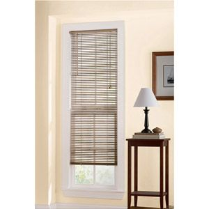 Mainstays Room Darkening Vinyl Mini Blind Khaki Vinyl Mini Blinds Mini Blinds Blinds For Windows
