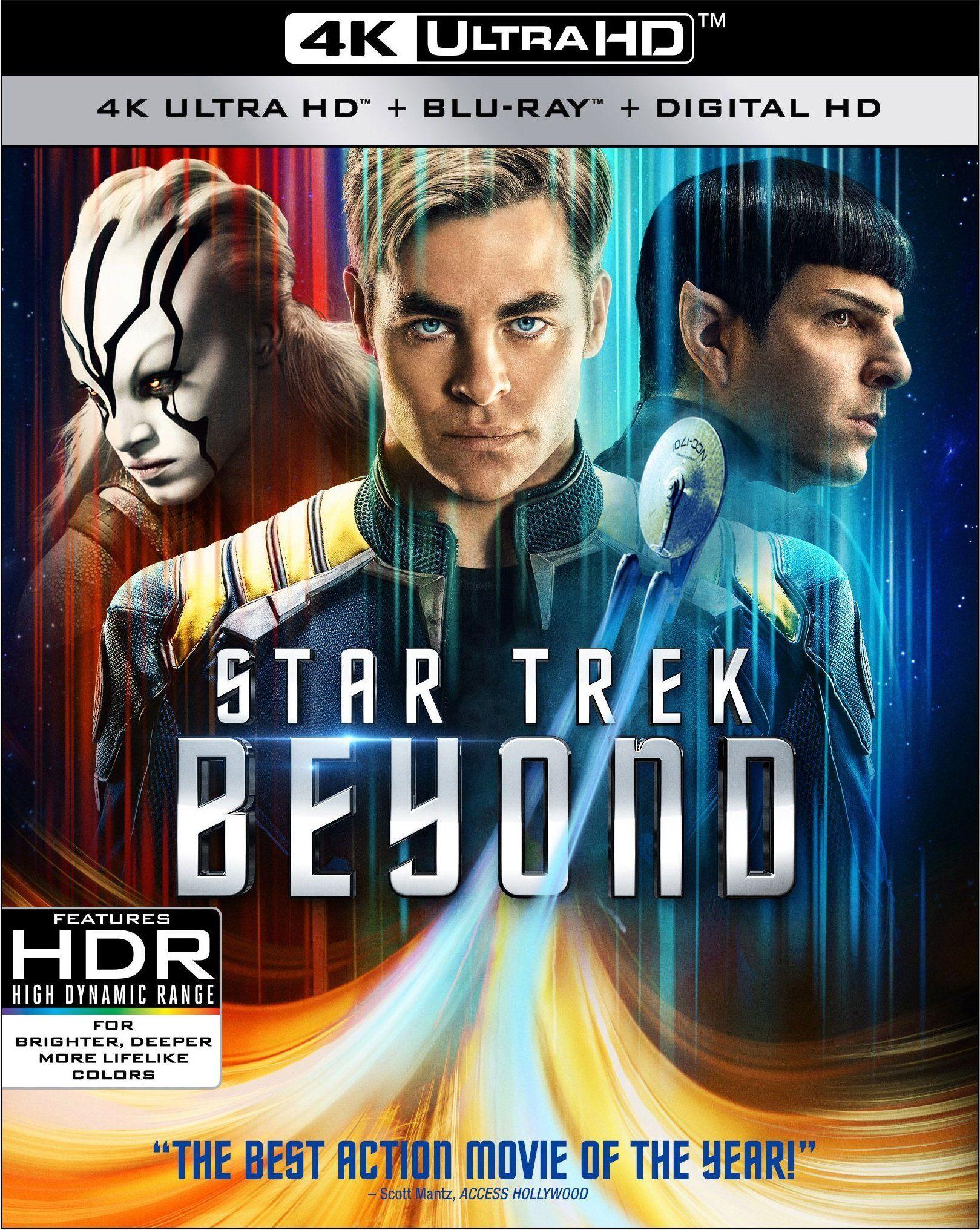 Star Trek Beyond 4k Ultra Hd Blu Ray Star Trek Beyond Star