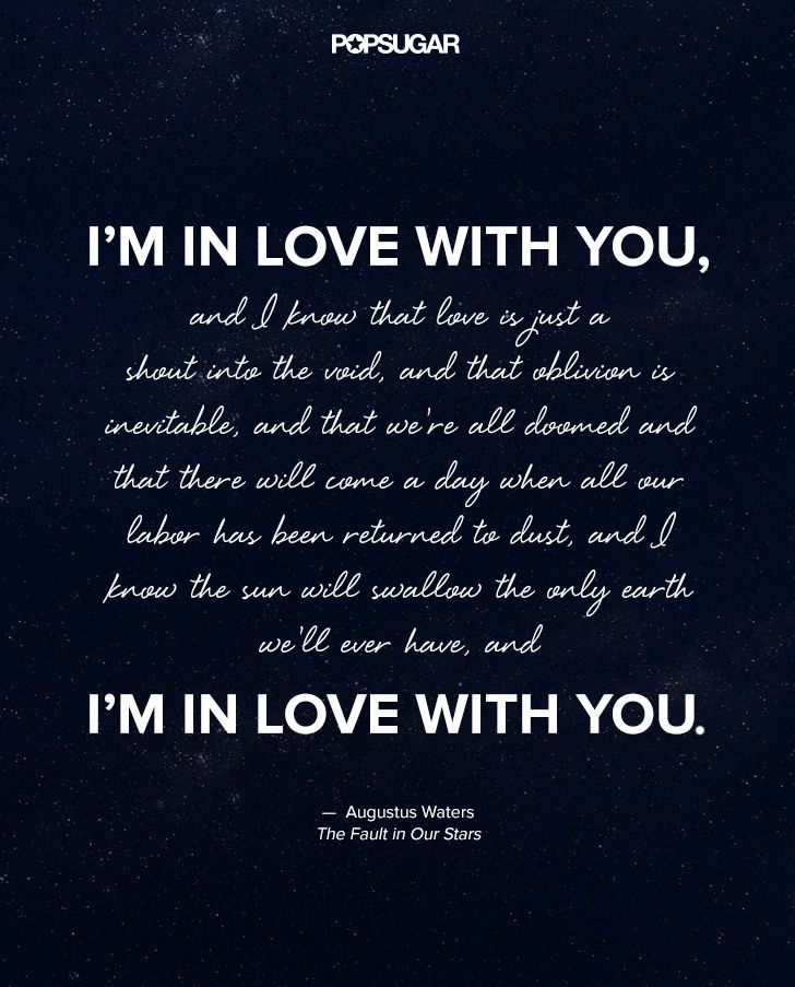 Augustus Waters Quotes Amazing The Most Beautiful Quotes From The Fault In Our Stars  Pinterest .