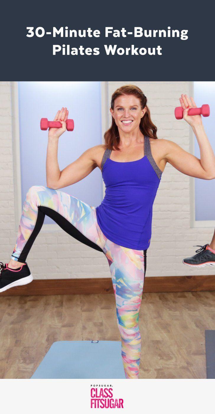30-Minute Fat-Burning Pilates Workout
