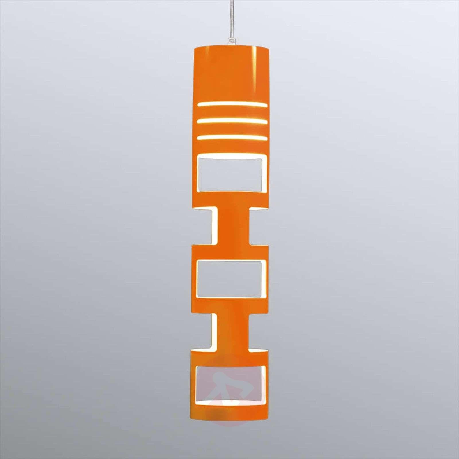 lampy łazienkowe sufitowe pomarańczowa
