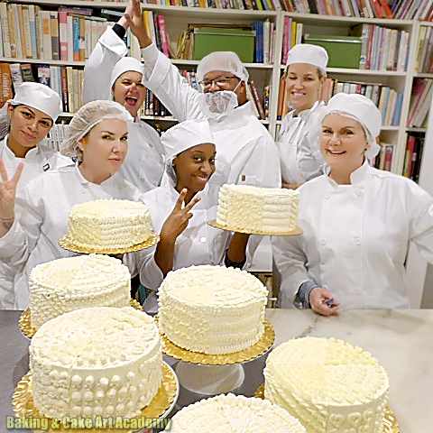 Baking Cake Art Student Fun Baking Cakes Decoration No Bake Cake Cake Decorating Classes