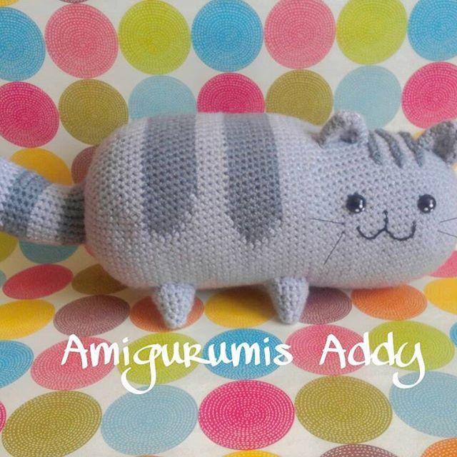 Pusheen the cat ;) #amigurumi #crochet #tejido #handmade #amigurumis ...