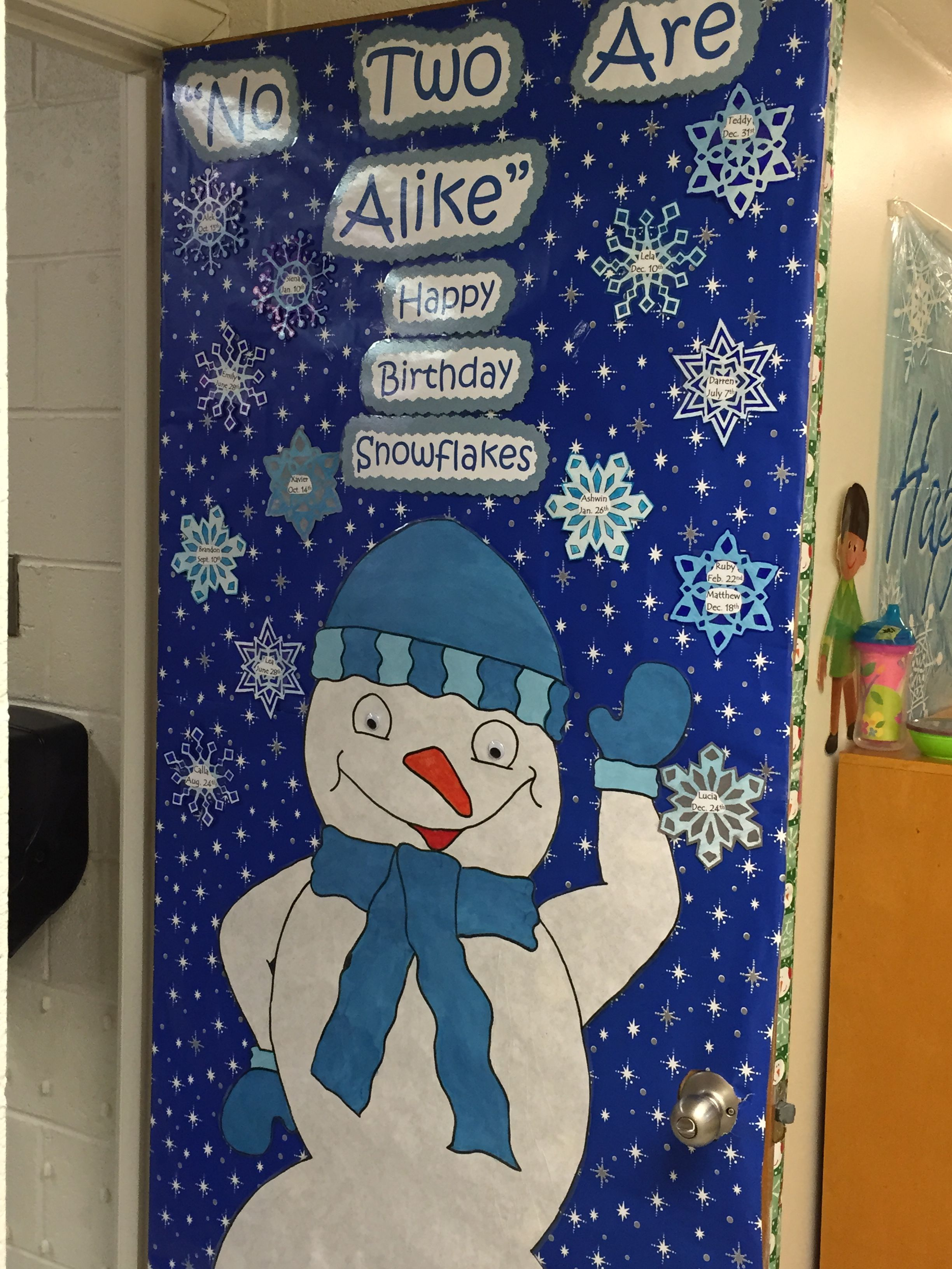 Winter Decorations For Preschool Classroom ~ Play learn bryn mawr pa quot no two snowflakes are alike