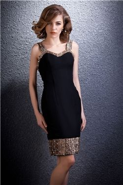 Charming Column Mini Straps Darias Cocktail Party Dress http://findanswerhere.com/dresses