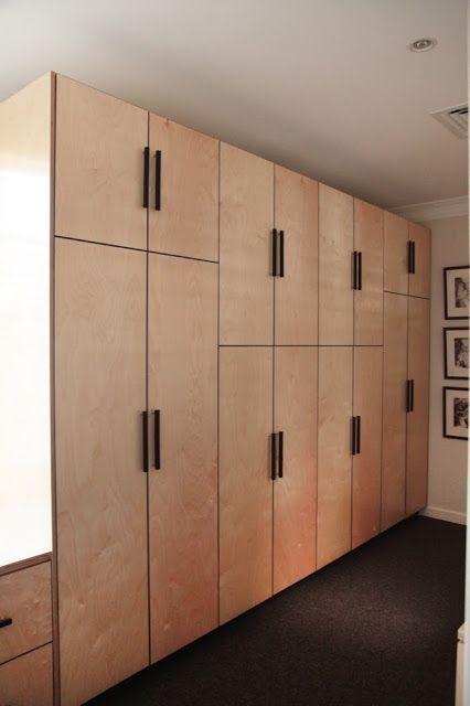 Ply Wardrobes Australian Marine Plywood Wardrobe Storage Doors Built In