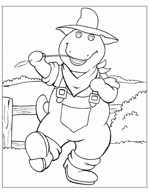 Free Printable Barney Coloring Pages | color pages and more for kids ...