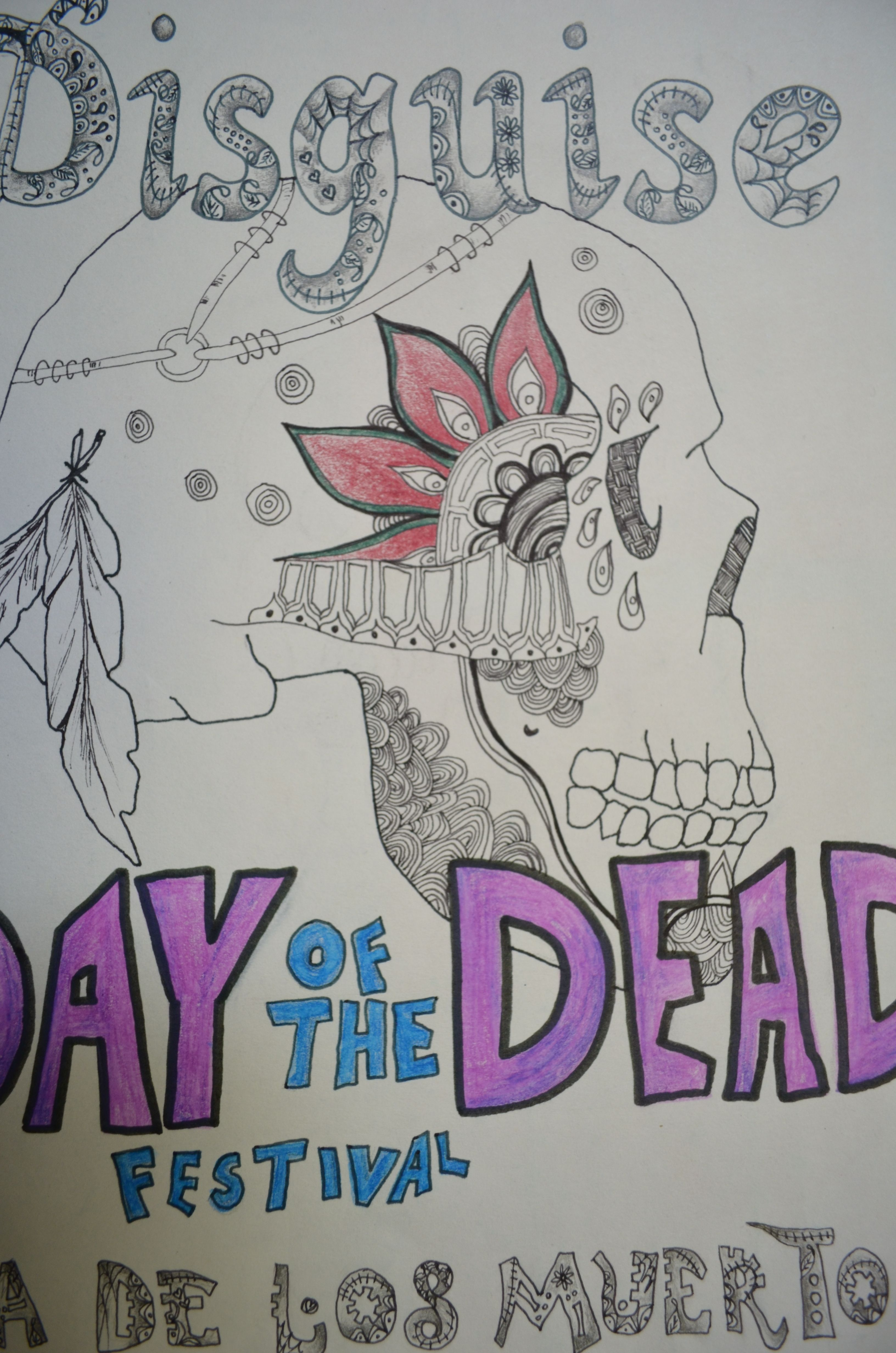 Title page day of the dead pinterest title page dailygadgetfo Images