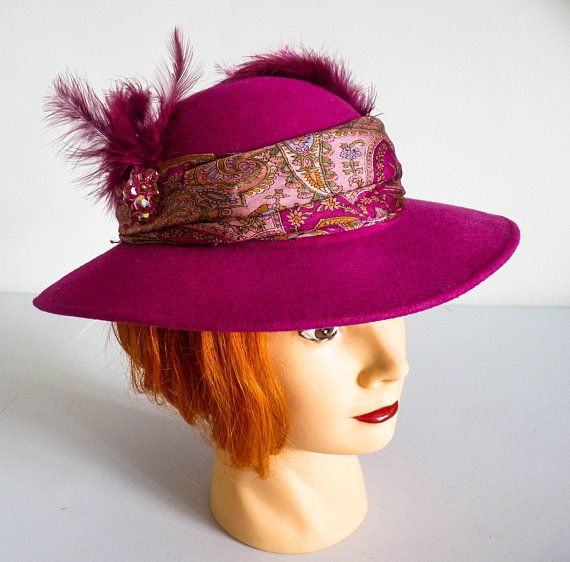 Ladies Pink Hat 340ab88f6b9