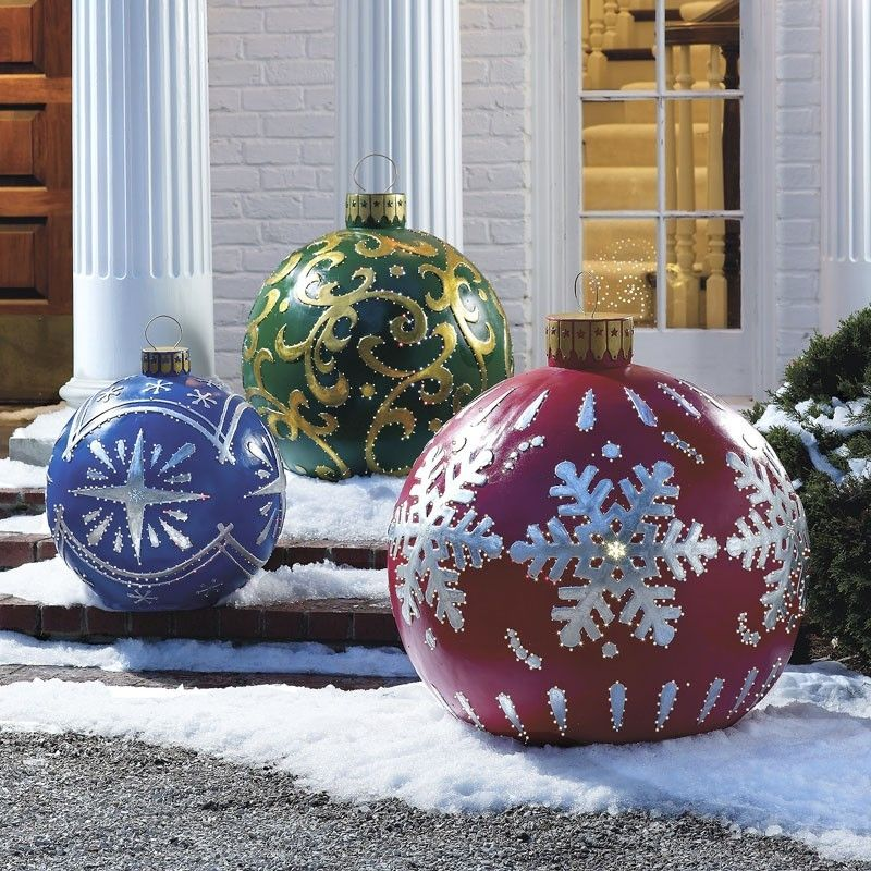 oversized christmas ornaments