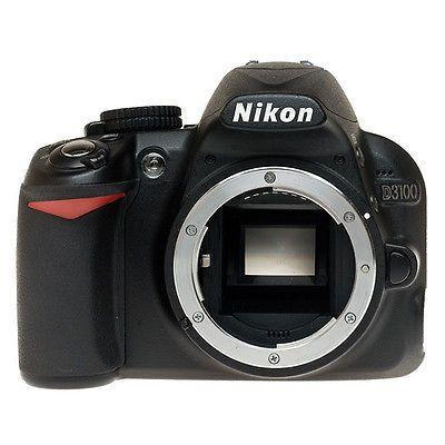 Nikon D D3100 14.2 MP Digital SLR Camera - Black (Body Only) https://t.co/oWSztJDi5b https://t.co/Bbt1fLOGkk