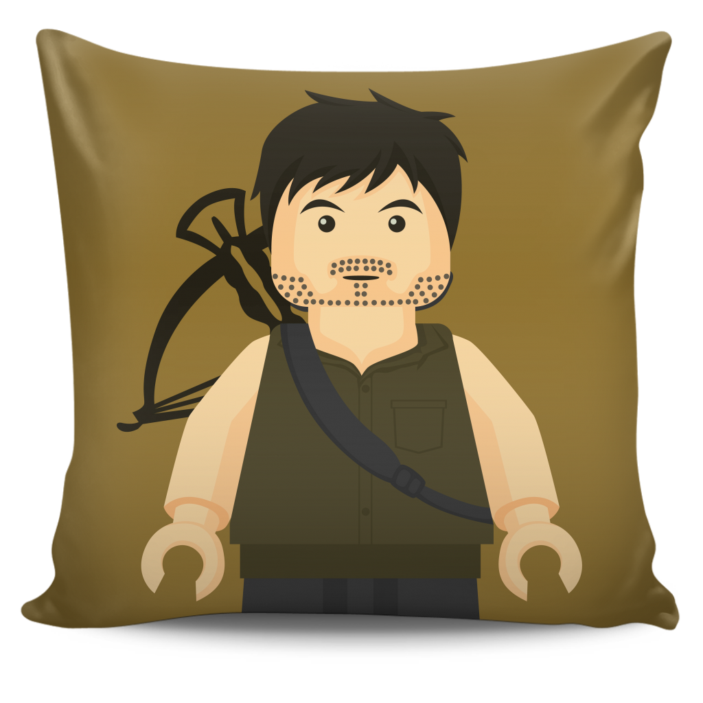 The Walking Dead Daryl Dixon Pillow Cover