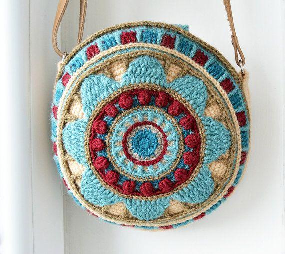 Patron Bolso Ganchillo. Simple Bolsos De Crochet Para Nias Bolsos De ...