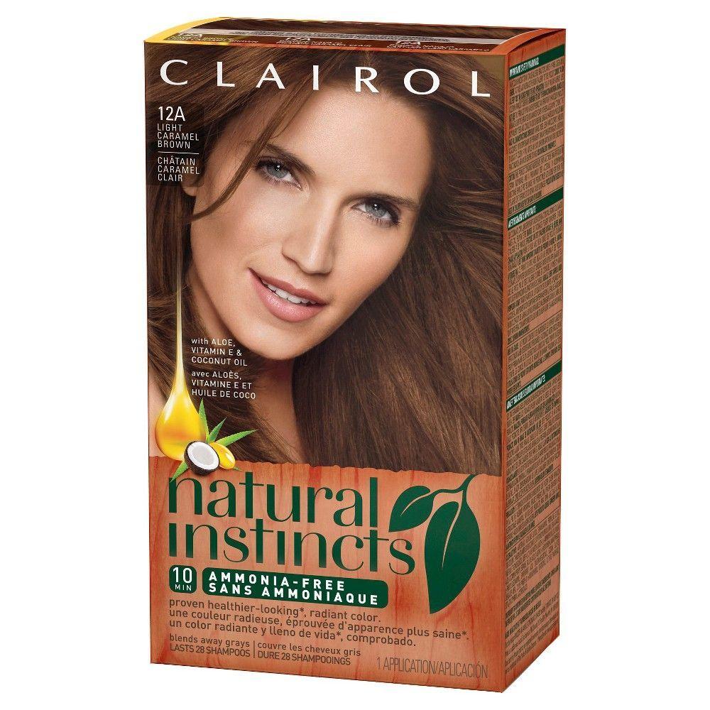 Clairol Natural Instincts Non Permanent Hair Color 4rv Dark Burgundy Rich Plum 1 Kit Clairol Natural Instincts Clairol Natural Non Permanent Hair Color