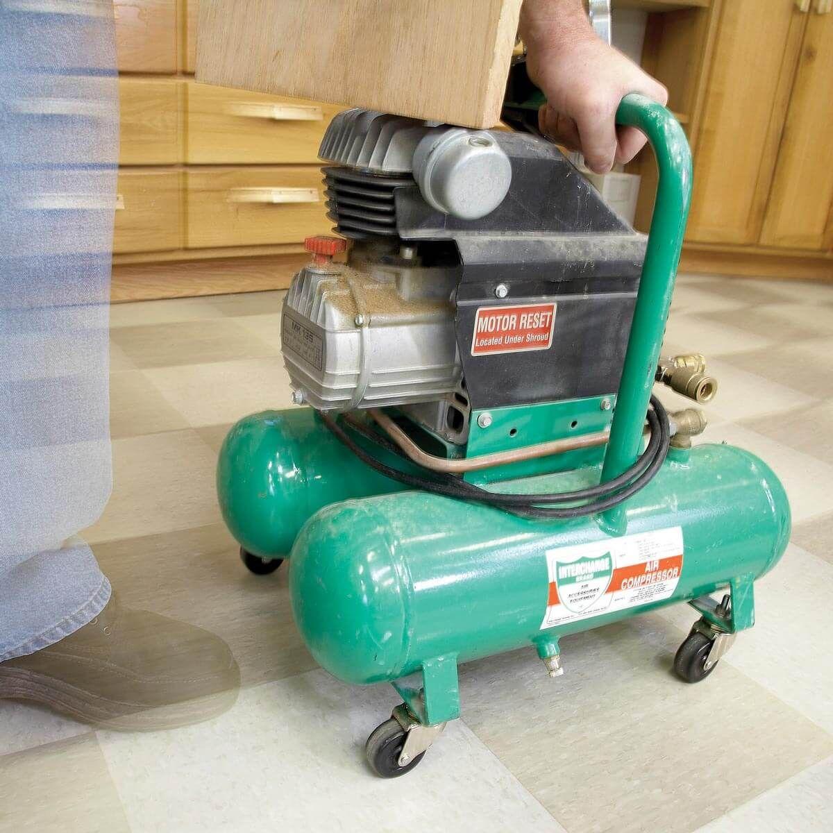 A Wheely Portable Compressor! Portable compressor