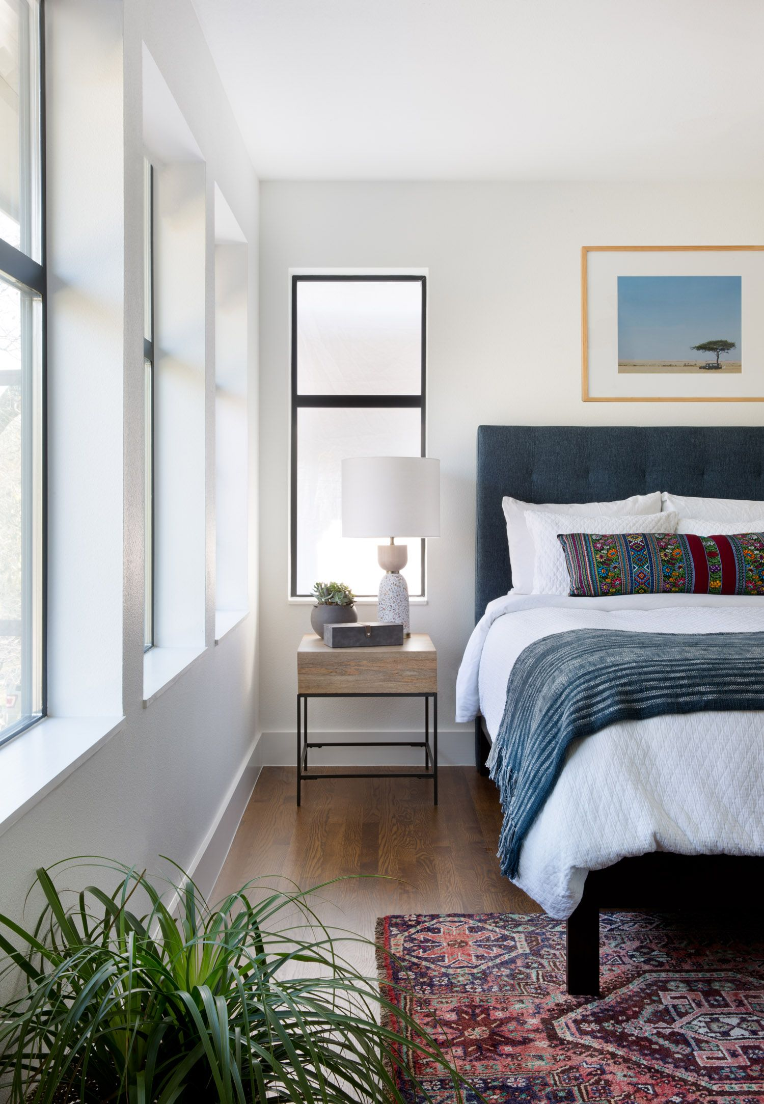 Main Bedroom Decor Pictures: Blending Styles In This Mid-Century Remodel