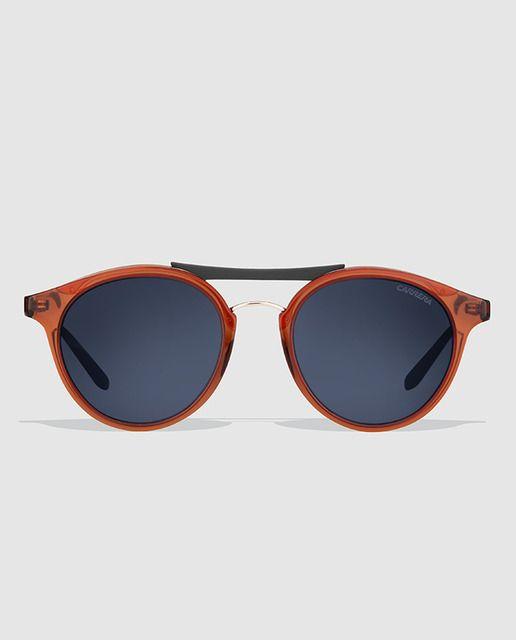 68748d111aca2 Gafas de sol unisex con montura de acetato en color marrón