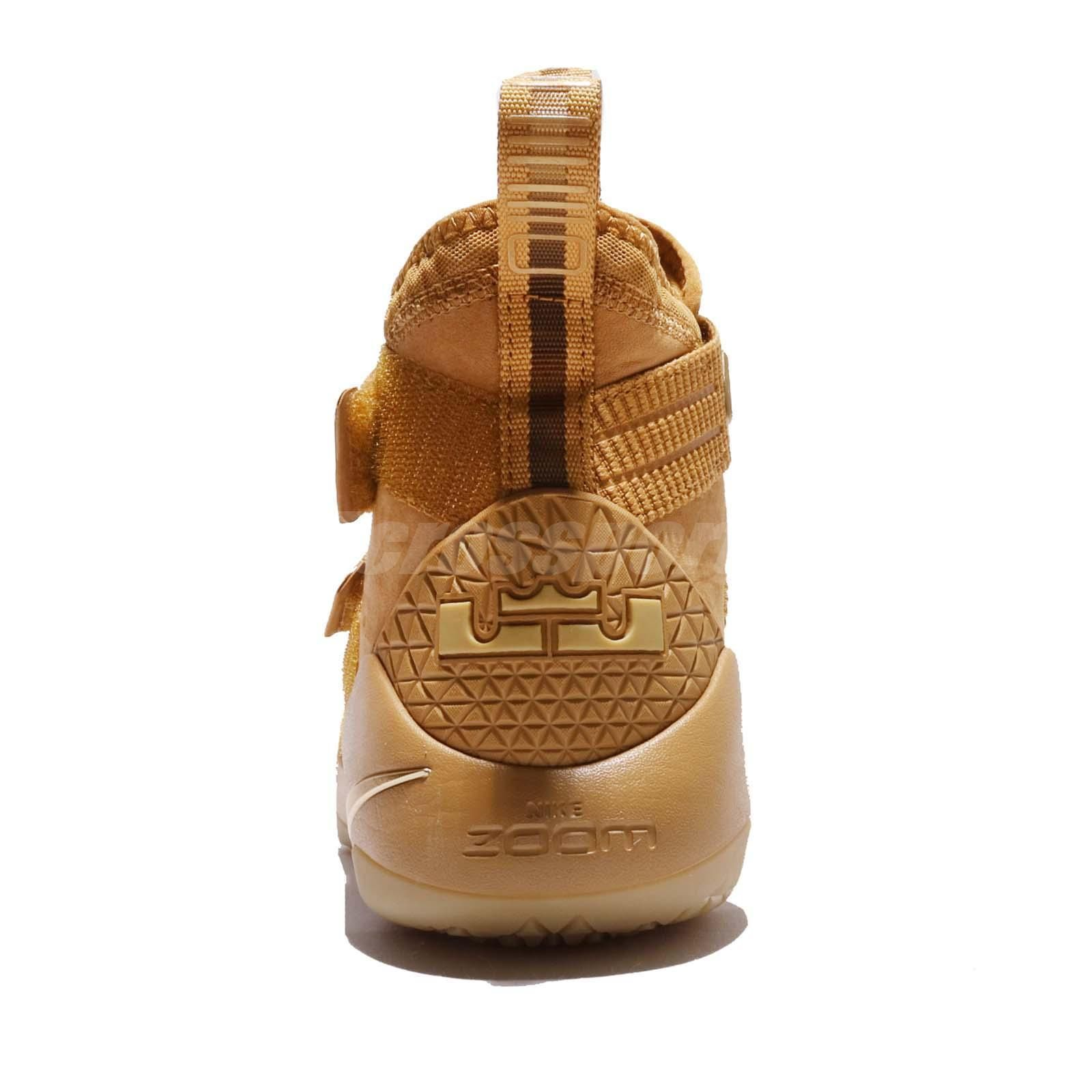 Nike Lebron Soldier XI SFG EP 11 James Wheat Gold Men Basketball 897647-700   a588a98d0