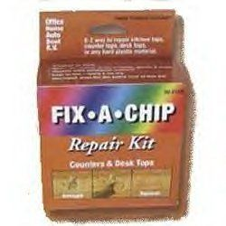 Fix-a-Chip Counter & Desktop Repair - As Seen on TV by Fix a Chip Repair Kit. $1.90. repair kitchen counter tops. repair Desktops. repair laminates. repair plastics. repair kitchen cabinets. With this patented kit, you can easily repair kitchen counter tops, cabinets, or any plastic laminate such as wall paneling, furniture, or desktops. There are dozens of repairs you can do in your car, truck, SUV, boat or RV. If you like to repair or restore furniture, or you have chipped Wi...