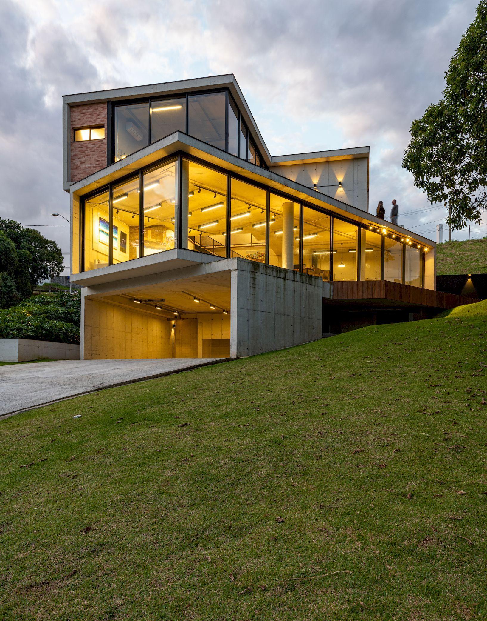 Atelie House Arqexact Arch2o Com In 2020 Facade House Modern Architecture House Architecture House