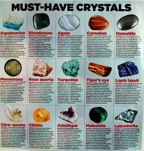 How & Why I Use Crystals