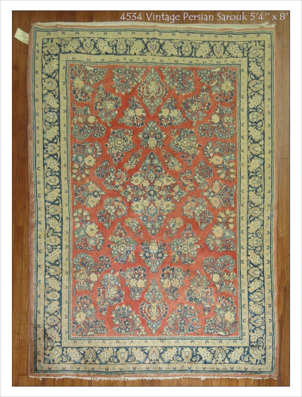 Saruck Rug Number 4534 Size 5 4 X 8 Rugs R