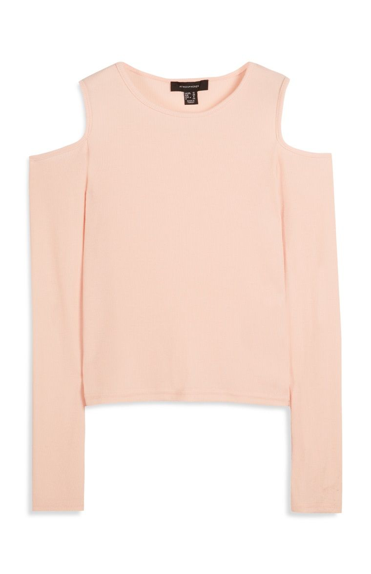 94fe0bf02 Primark - Blush Cold Shoulder Top