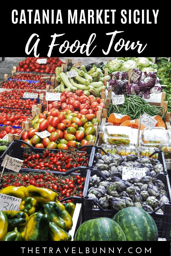 A Food Tour Catania Market & Pescheria, Sicily The