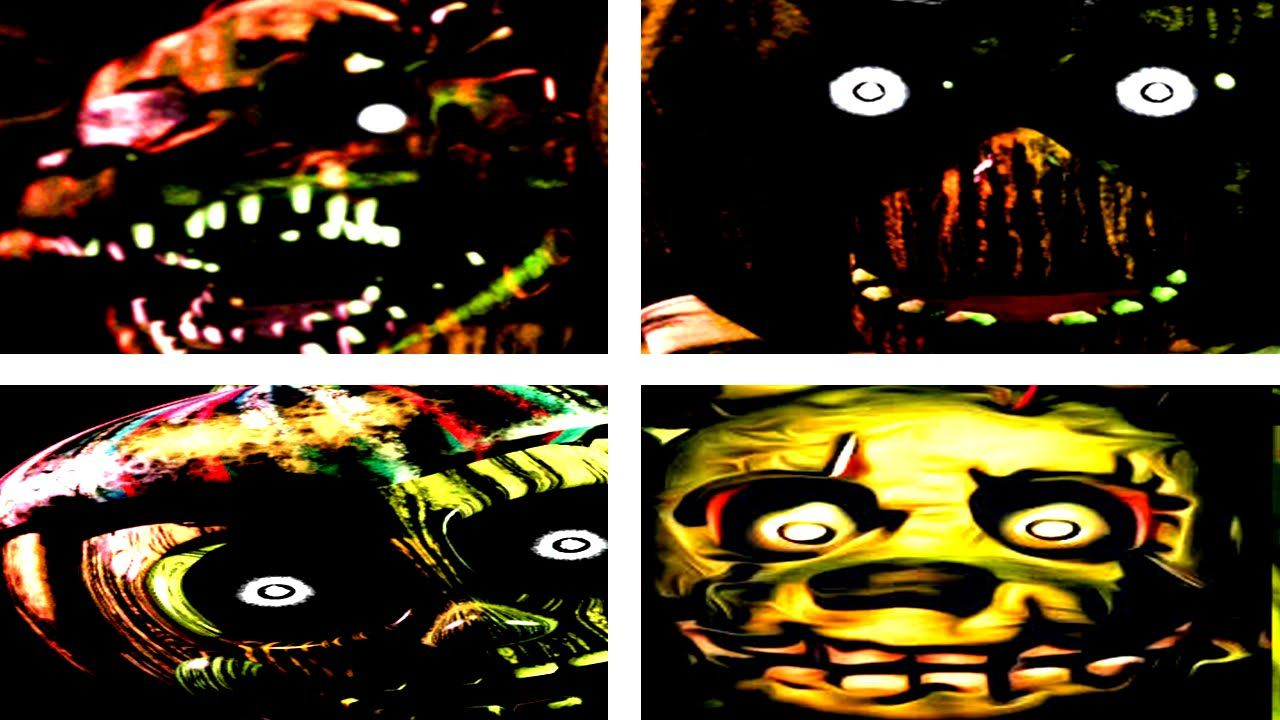 Fnaf 3 All Jumpscares Five Nights At Freddy S 3 All