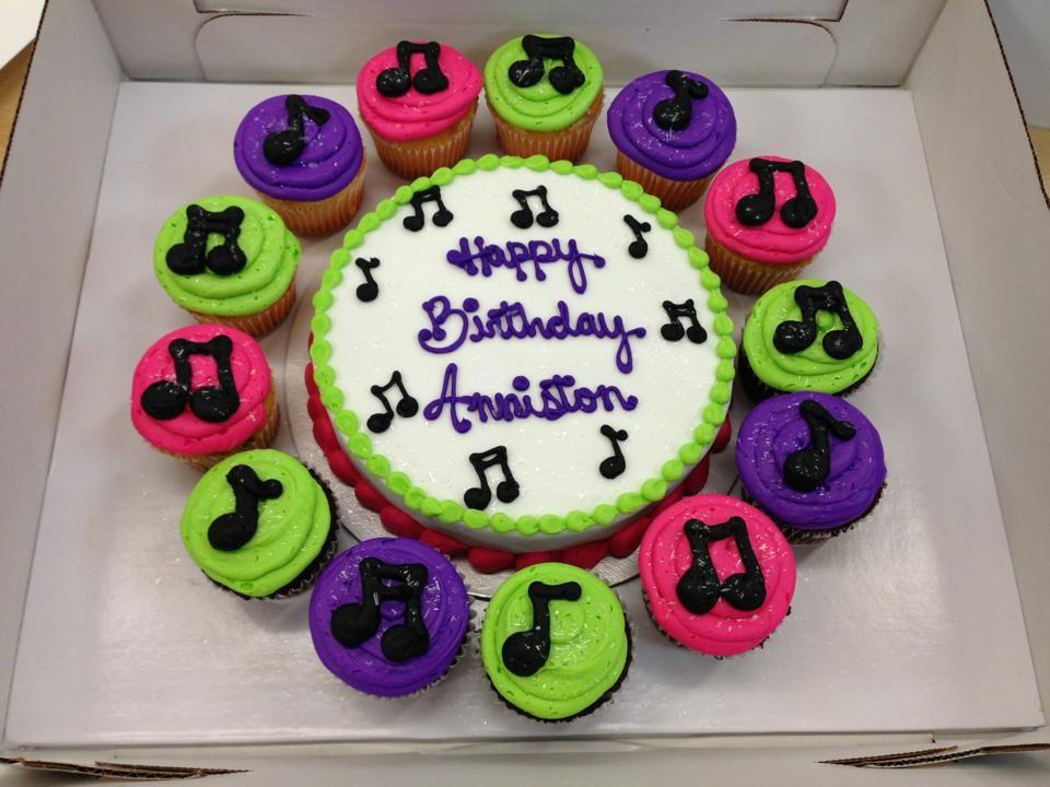 Music Note Birthday Cake Makennas Parties Pinterest Birthday