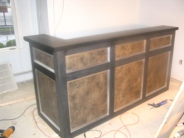 DIY Reception desk | Office | Pinterest | Reception desks ...