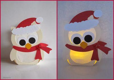 Weihnachts Eule Basteln Weihnachten Weihnachtszeit