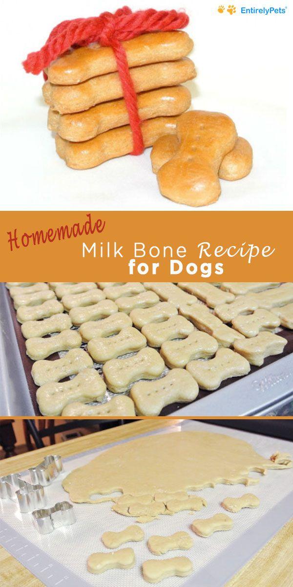 Milk Bones Dog Treat Recipe Dog Biscuit Recipes Dog Treat