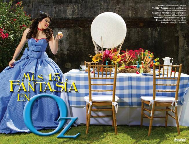 Wizard of Oz Quinceañera Theme #QuinceMundo #Quinceaneras