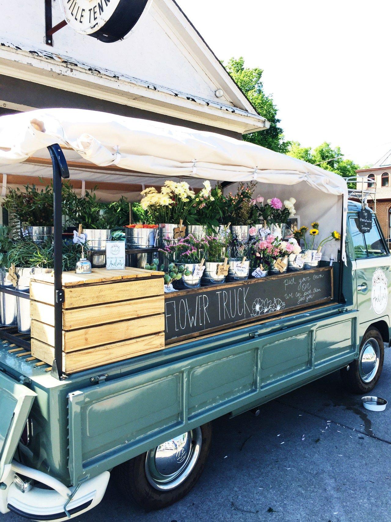 A quick weekend in nashville flower truck planting