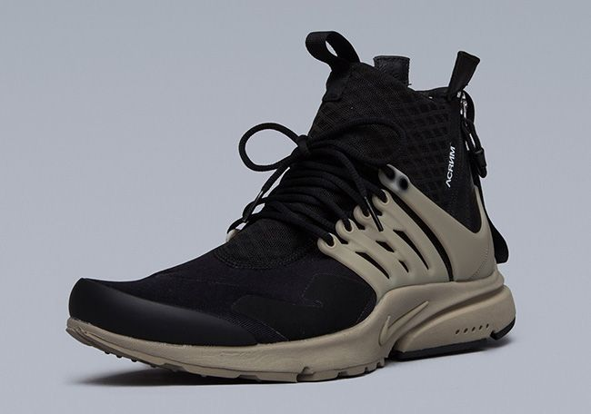 ACRONYM x Nike Air Presto Mid Black