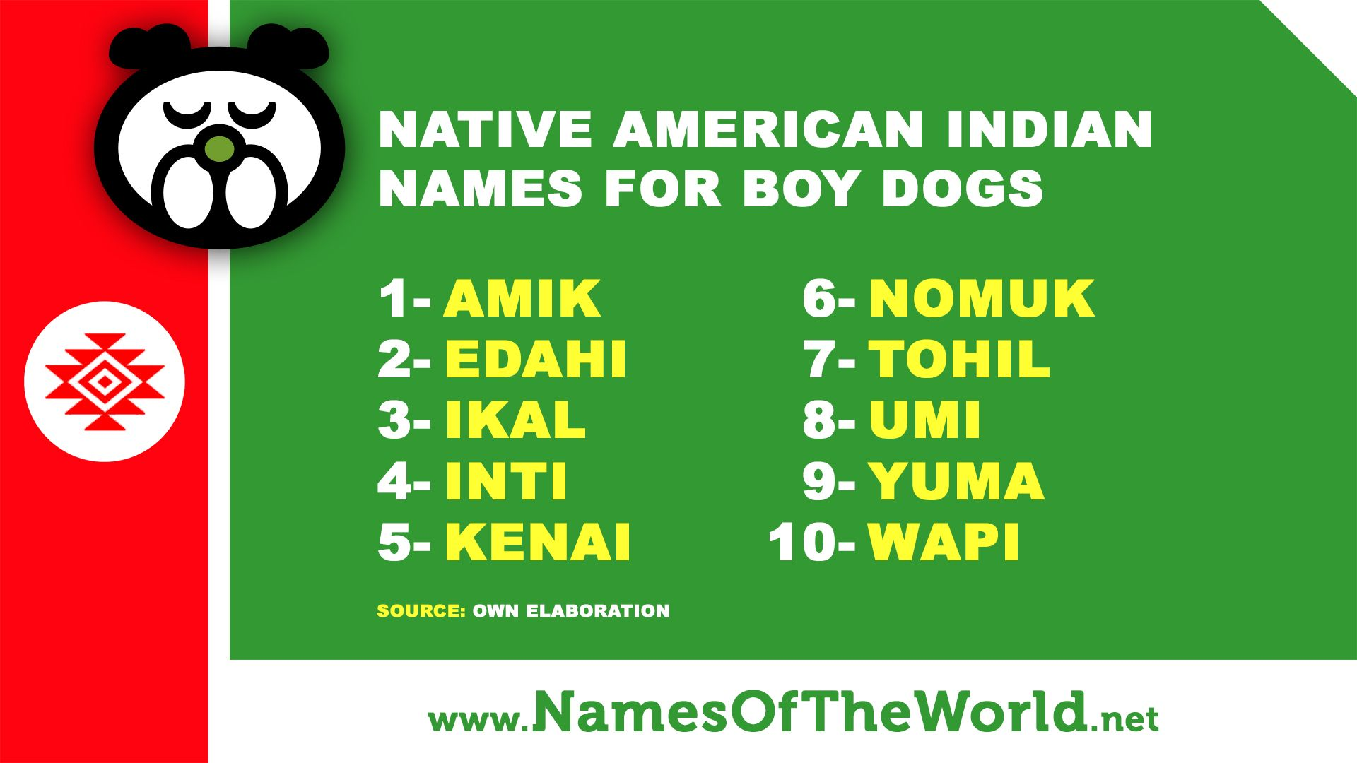 Pets Native American Indian Dog Male Names More Dogs Names