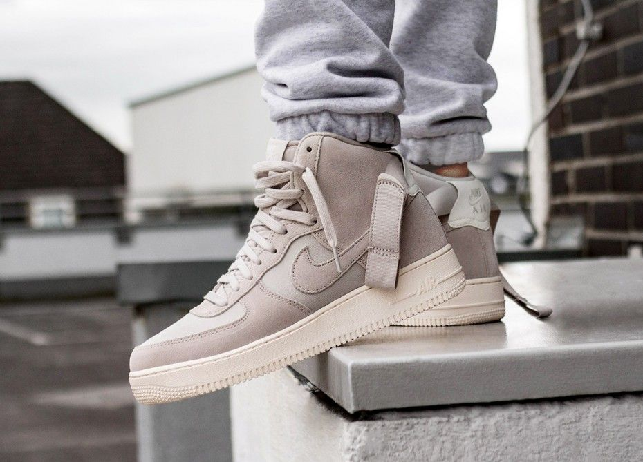 new arrival c354d 4fdc2 Nike  Nike Air Force 1 Hi 07 Suede (Desert Sand  Desert