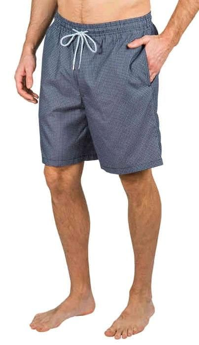 8c7fdd418d Kirkland Signature™ Men's Swim Short | Gray Square | Costco Fashion ...