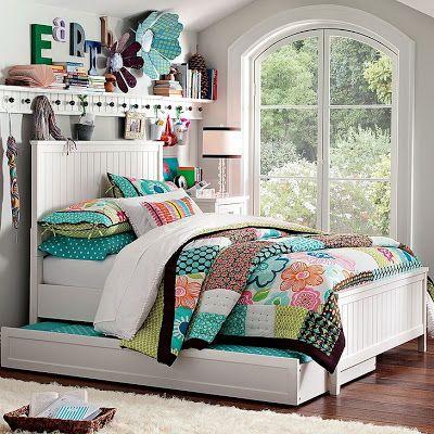 Dormitorio chica adolescente  Decoraciones de Interiores