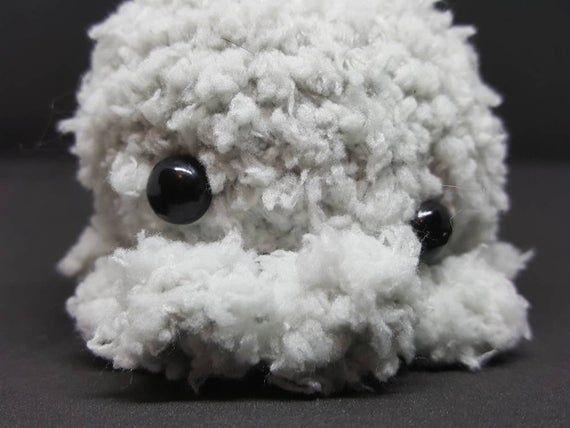 Dustin the Cute Soft Crochet Octopus Amigurumi Plushie Kawaii Toy  Dustin the Cute Soft Crochet O
