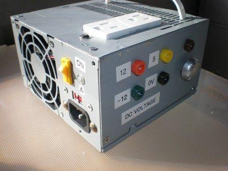300 watt ATX Power Supply Test Bench | DIY | Pinterest | Bench ...