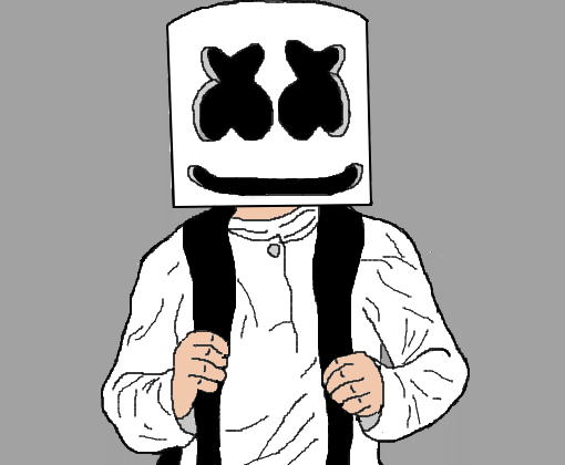 Resultado De Imagem Para Marshmello Dj Desenho Marshmello