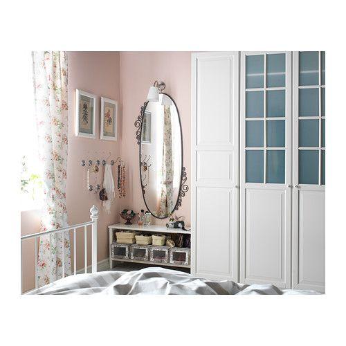 EKNE Espelho IKEA Pode pendurar-se na horizontal ou vertical. Fornecido com uma película de segurança; minimiza os danos caso o espelho se p...